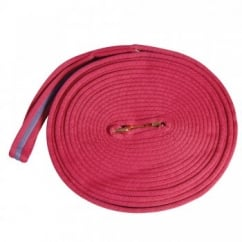 2 Tone Padded Lunge Rein Pink