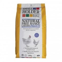 Natural Free Range Poultry Layers Pellets 20Kg
