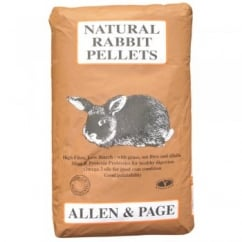 Allen & Page Natural Rabbit Pellets Rabit Food 20Kg