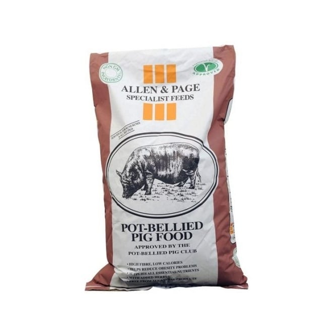 Allen & Page Pot-Bellied Pig Feed 20Kg