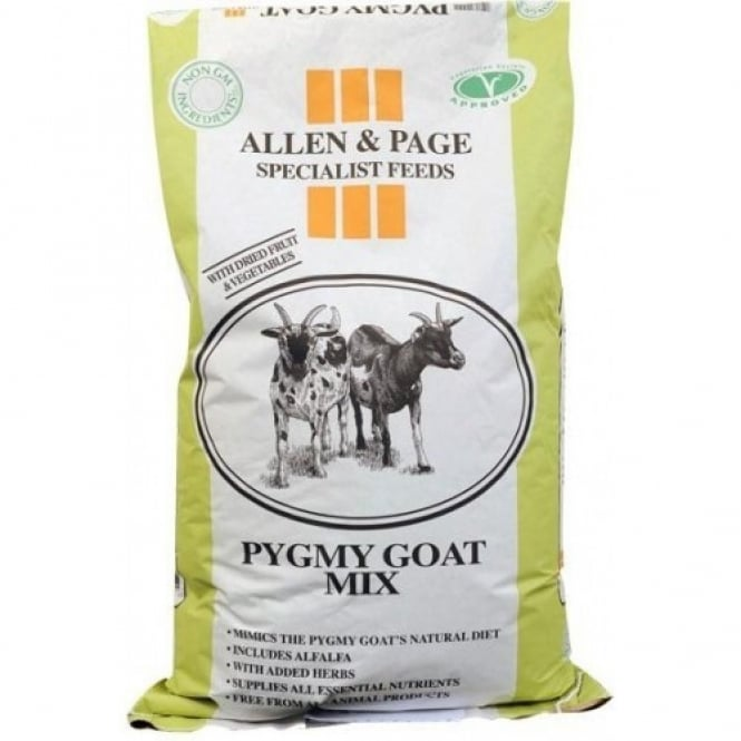 Allen & Page Pygmy Goat Feed Mix 15Kg