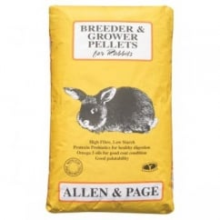 Allen & Page Rabbit Breeder Grower Pellets 20Kg