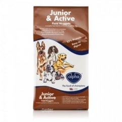 Junior & Active Field Nuggets 15Kg