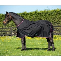 Hero 6 Lite Turnout Rug Black / Purple & Mint