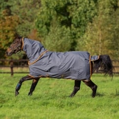 Hero 6 Plus 0g Turnout Rug Excalibur/Orange