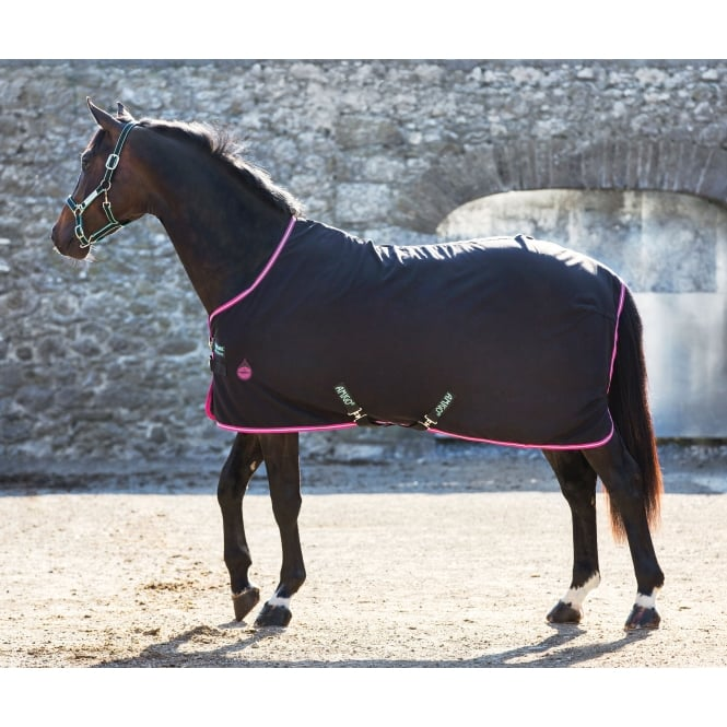 Amigo Stable Sheet Black & Purple