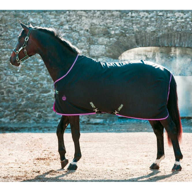 Amigo Stable Sheet Black With Purple & Mint