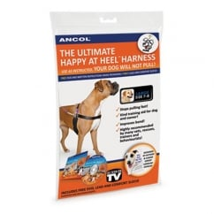 Happy At Heel Dog Training Harness & Lead Set with DVD