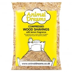 Mini Lemon Scented Wood Shavings Pet Bedding