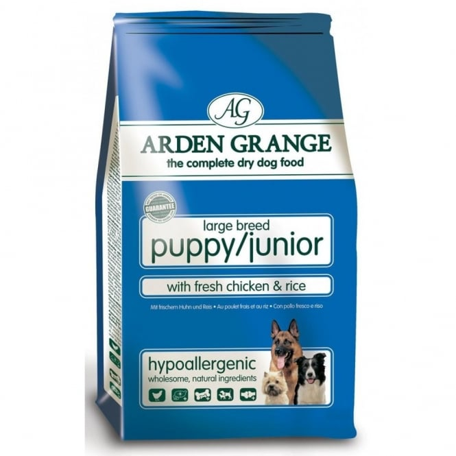 Arden Grange Large Breed Puppy / Junior Chicken & Rice 12Kg