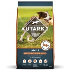 Autarky Adult Tantalising Turkey & Potato Dog Food