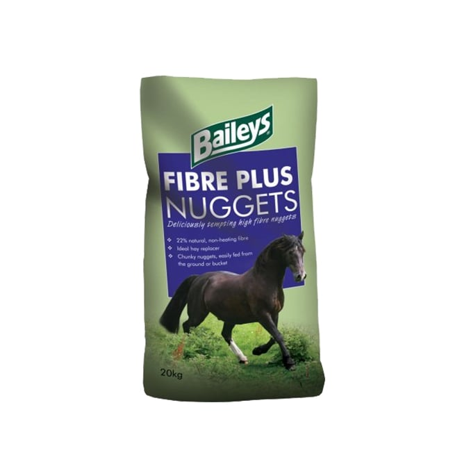 Baileys Fibre Plus Nuggets 20Kg - Horse Feed