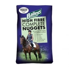 High Fibre Complete Nuggets - Horse Feed 20Kg