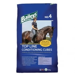 No 4 Top Line Conditioning Cubes Horse Feed 20Kg