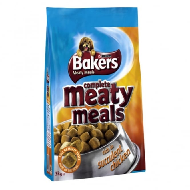 Bakers Complete Meaty Meals Adult Dog Food Chicken 2.7Kg