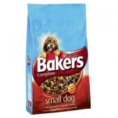 Complete Small Breed Dog Food Beef 2.7Kg