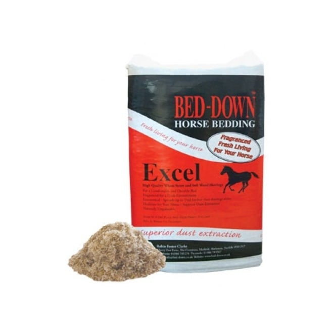 Bed-Down Excel - Horse Bedding Bale Aprox 20Kg