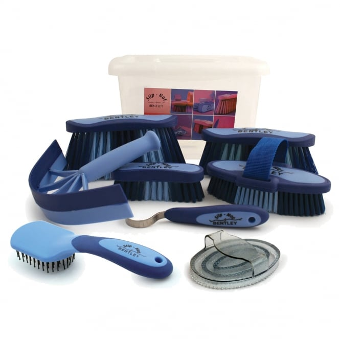 Bentley Carry Case 9 Piece Grooming Kit Blue