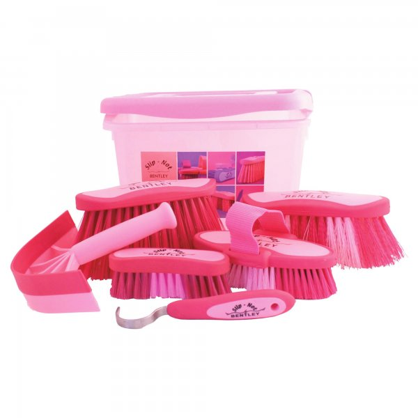 Bentley Small Carry Case Grooming Kit Pink At Burnhills