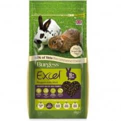 Excel Adult Rabbit Food With Mint