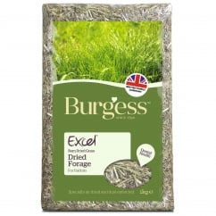 Excel Barn Dried Forage For Rabbits 1Kg