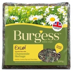 Excel Herbage Timothy Hay With Camomile 500g