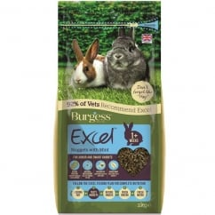 Excel Junior And Dwarf Rabbit Nuggets With Mint