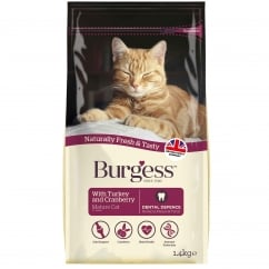 Mature Cat Food with Turkey & Cranberry 1.4Kg