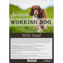 Complete Working Dog Food With Beef 15Kg