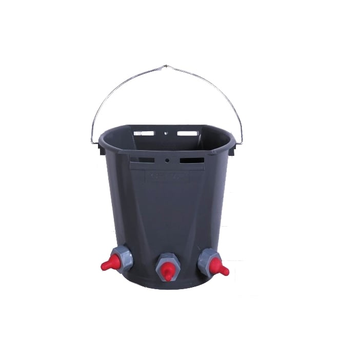 Burnhills Lamb Feeder Bucket - 3 Teat - 8Ltr