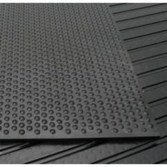 Rubber Stable Mats - 17mm