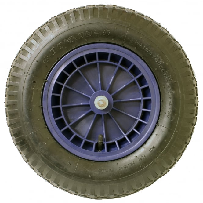 Burnhills Spare Wheel For 100Ltr Classic Blue Wheelbarrow