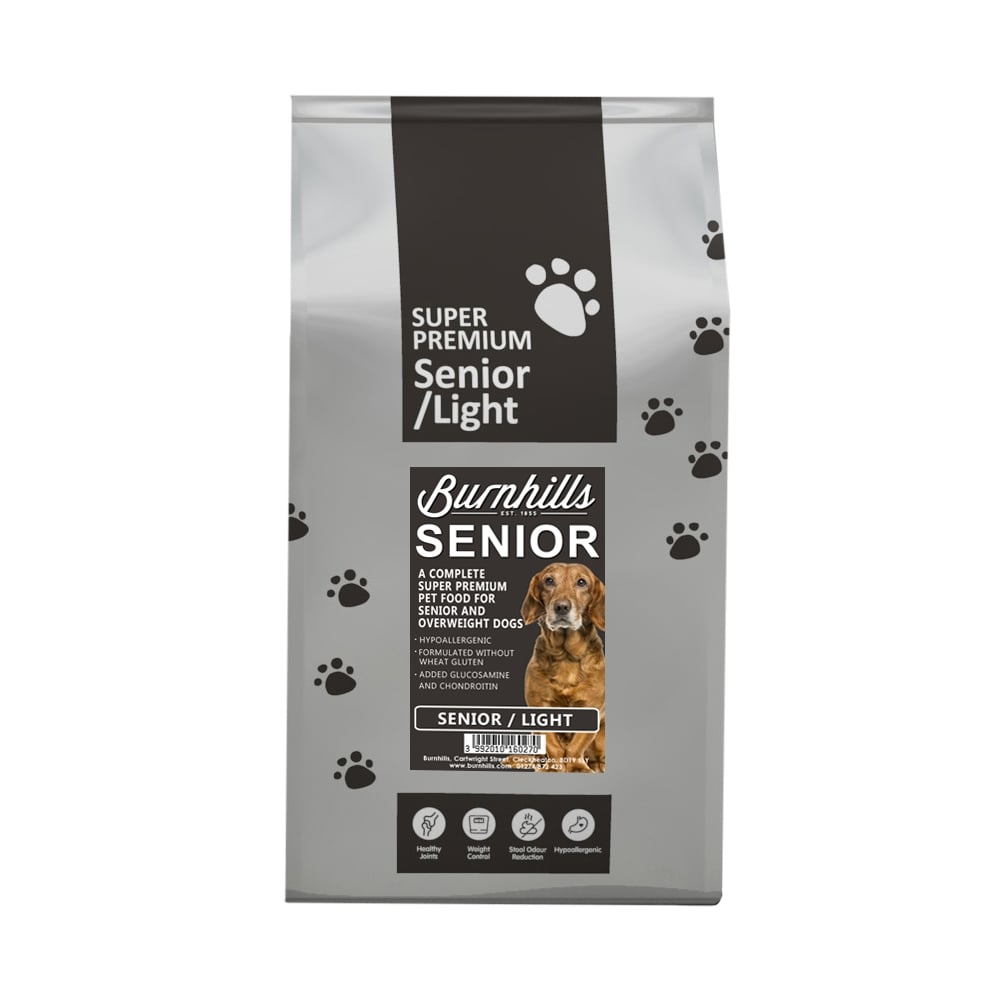 Burnhills Super Premium Senior Light Dog Food
