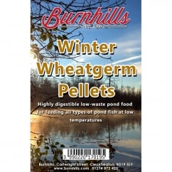 Burnhills Winter Wheatgerm Pond Pellets - Fish Food