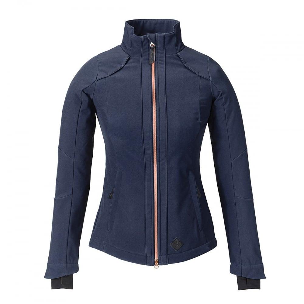 ad6e3e024 Elena Womens Softshell Jacket Navy Blue