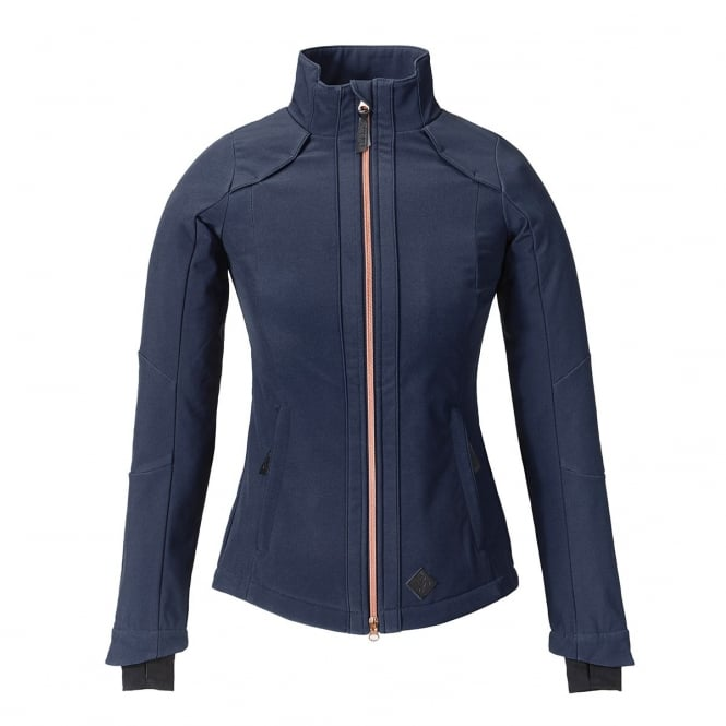 Caldene Elena Womens Softshell Jacket Navy Blue