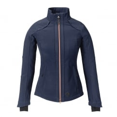 Elena Womens Softshell Jacket Navy Blue