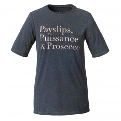 Payslips Womens T shirt Grey