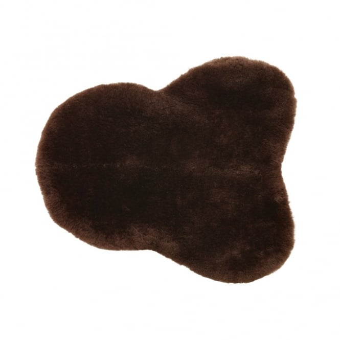 Caldene Sheepskin Seat Saver Brown - One Size