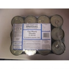 Breeders Tinned Cat Meat - 12 x 385g Can Variety Pack