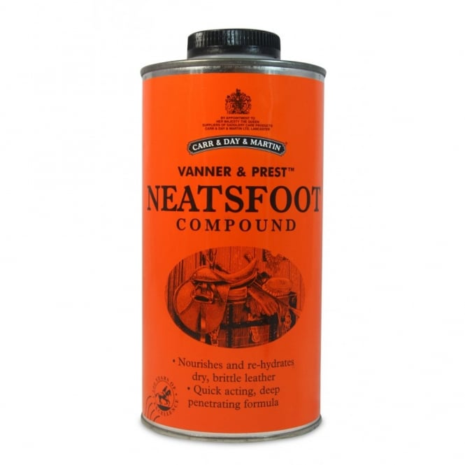 Carr & Day & Martin Vanner & Prest Neatsfoot Compound - Leather Oil