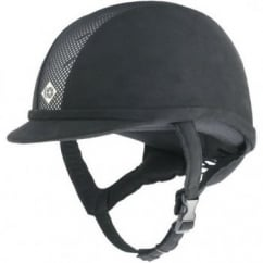 AYR8 Horse Riding Helmet Black / Silver