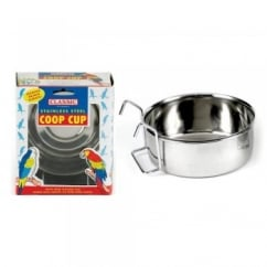 Stainless Steel Coop Cup and Wire Hanger