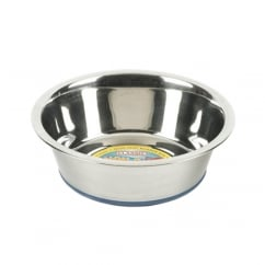 Classic Stainless Steel Non-Slip Dog Bowl