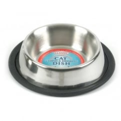 Stainless Steel Non-Tip Cat Bowl 6.25