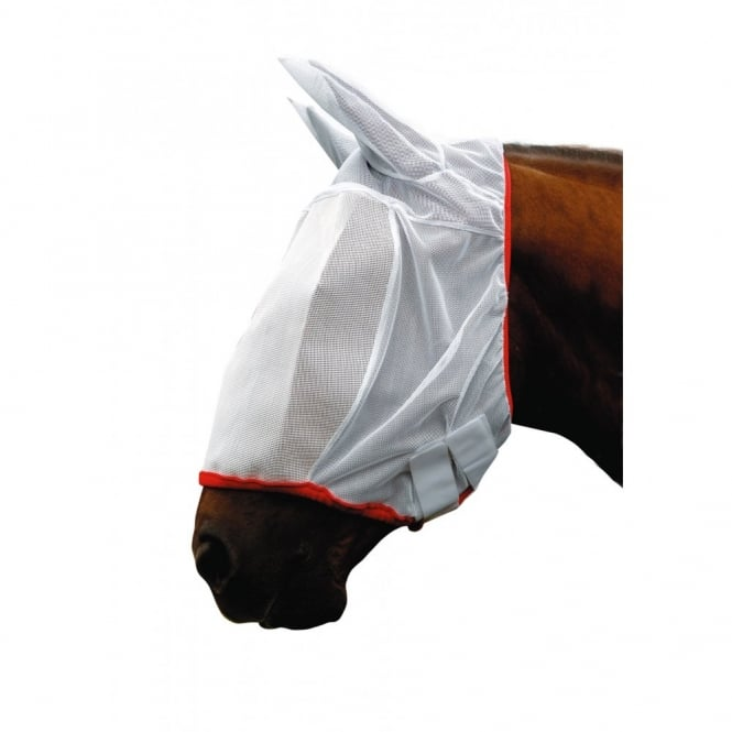 Cottage Craft Fly Mesh Mask White