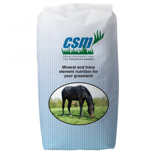 CSM Grass Fertiliser 20Kg - Horse & Pony Mineral Fertiliser