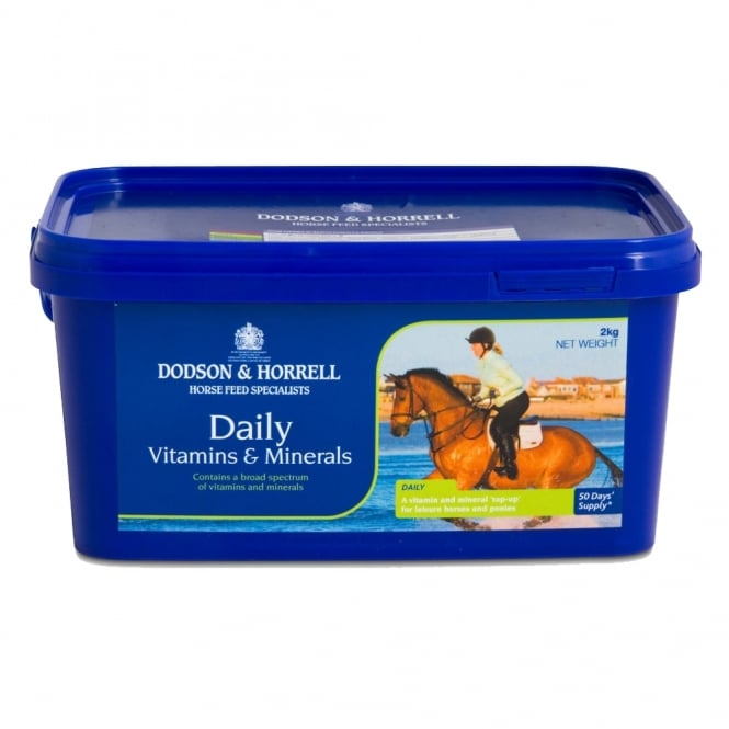 Dodson & Horrell Daily Vitamins & Minerals Horse Supplement 2Kg