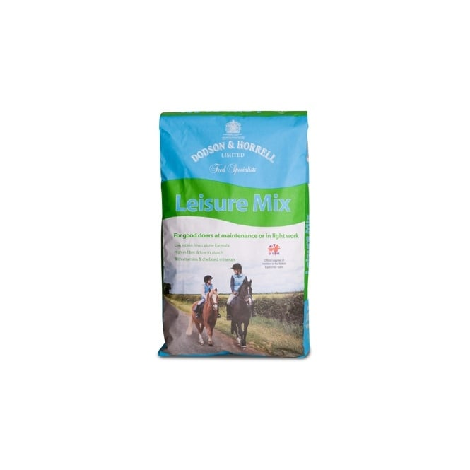 Dodson & Horrell High Fibre Mix 20Kg (formally Leisure Mix) - Horse Feed