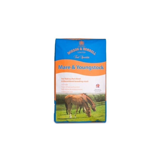 Dodson & Horrell Mare & Youngstock 20Kg - Horse Feed